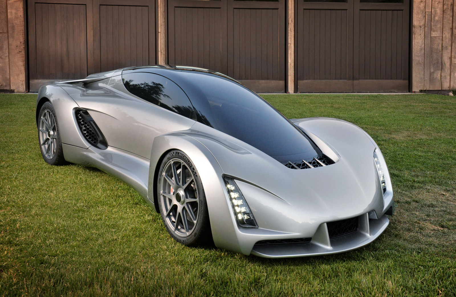 Blade, the World's First 3-D Printed Supercar