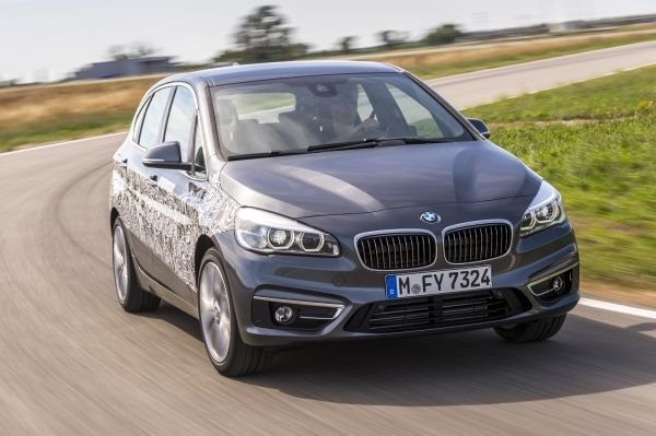 BMW 2 Series Active Tourer Plug-in Hybrid Prototype (eDrive)
