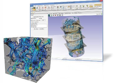 Digital Rock Physics Applications with Simpleware