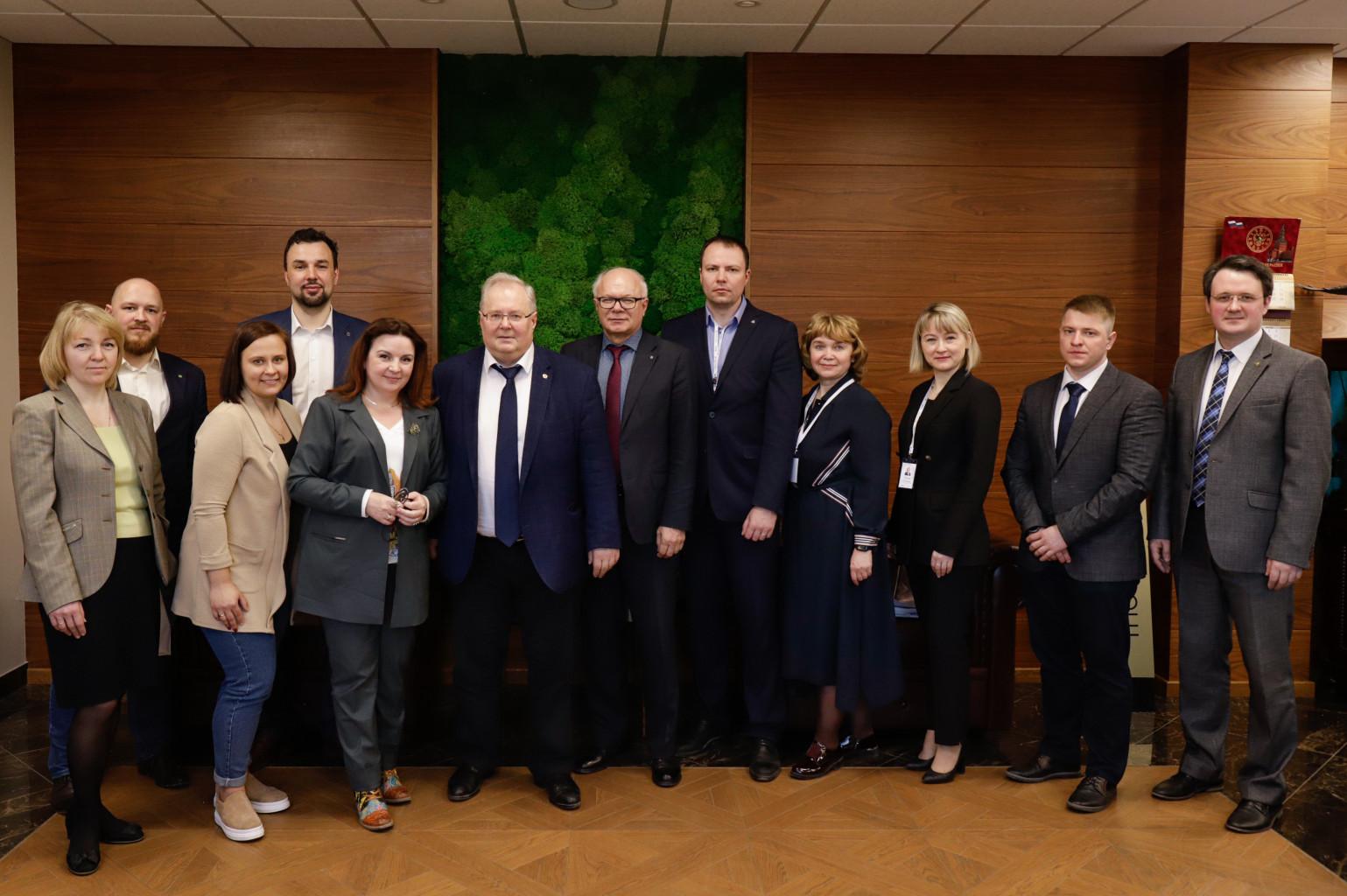 Центр НТИ СПбПУ с рабочим визитом посетила делегация Череповецкого государственного университета и представители ПАО «Северсталь»