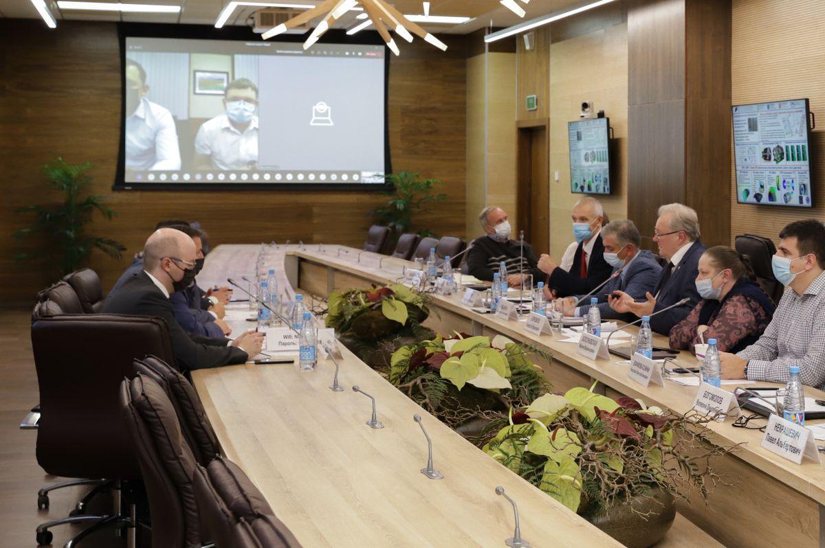 НЦМУ СПбПУ «Передовые цифровые технологии», Центр НТИ СПбПУ и «Зарубежнефть» определили перспективы сотрудничества