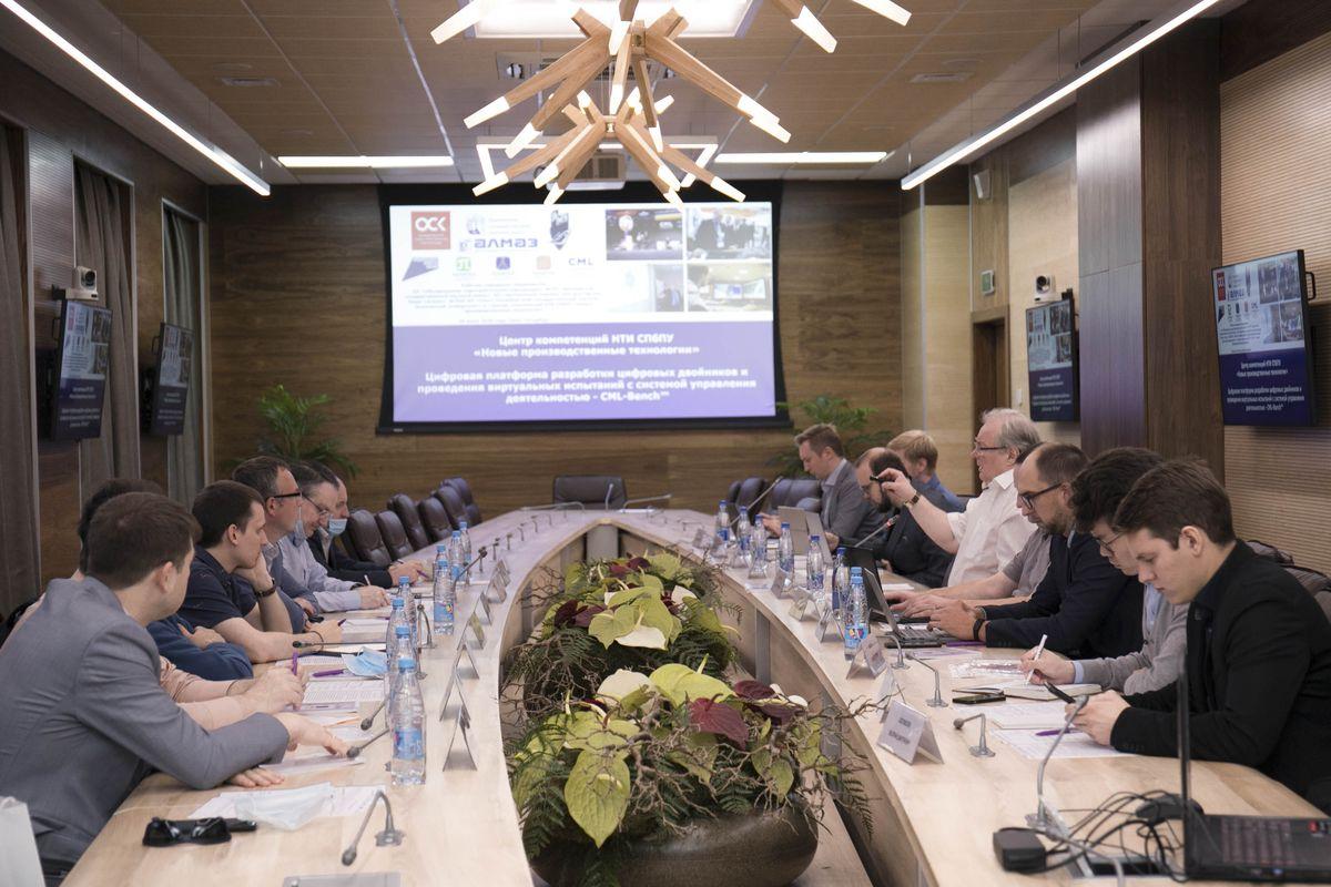 Сотрудники Центра НТИ СПбПУ и представители Крыловского государственного научного центра обсудили перспективы сотрудничества
