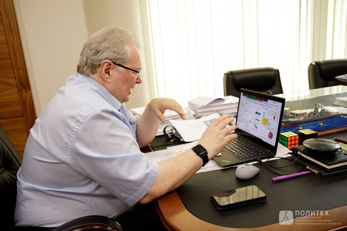 011 - Алексей Боровков выступил с лекцией в рамках программы Онлайн-конференции «DIGITAL MANUFACTURING: на пути к Индустрии 4.0»