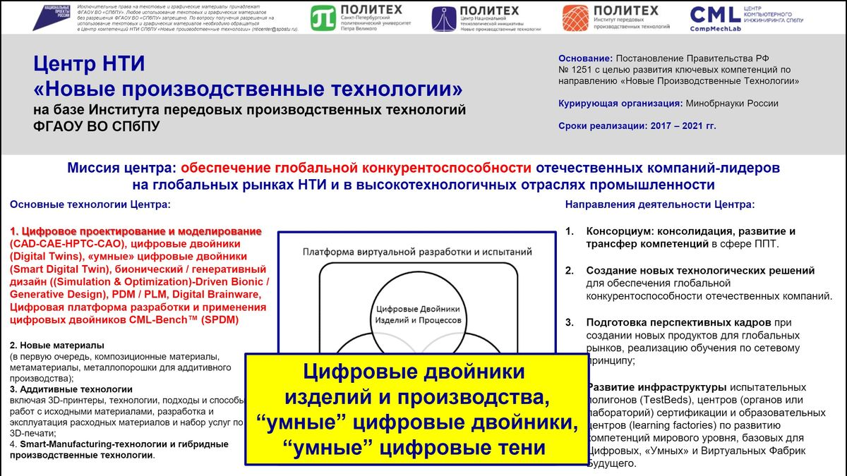 6 - Алексей Боровков выступил с лекцией в рамках программы Онлайн-конференции «DIGITAL MANUFACTURING: на пути к Индустрии 4.0»